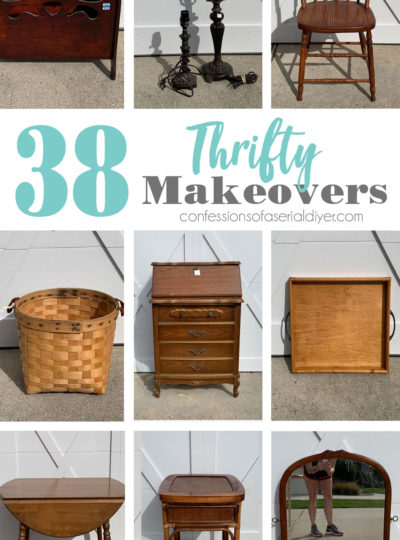 38 Thrifty Makeovers (A recap of the Biggest Haul Ever!)