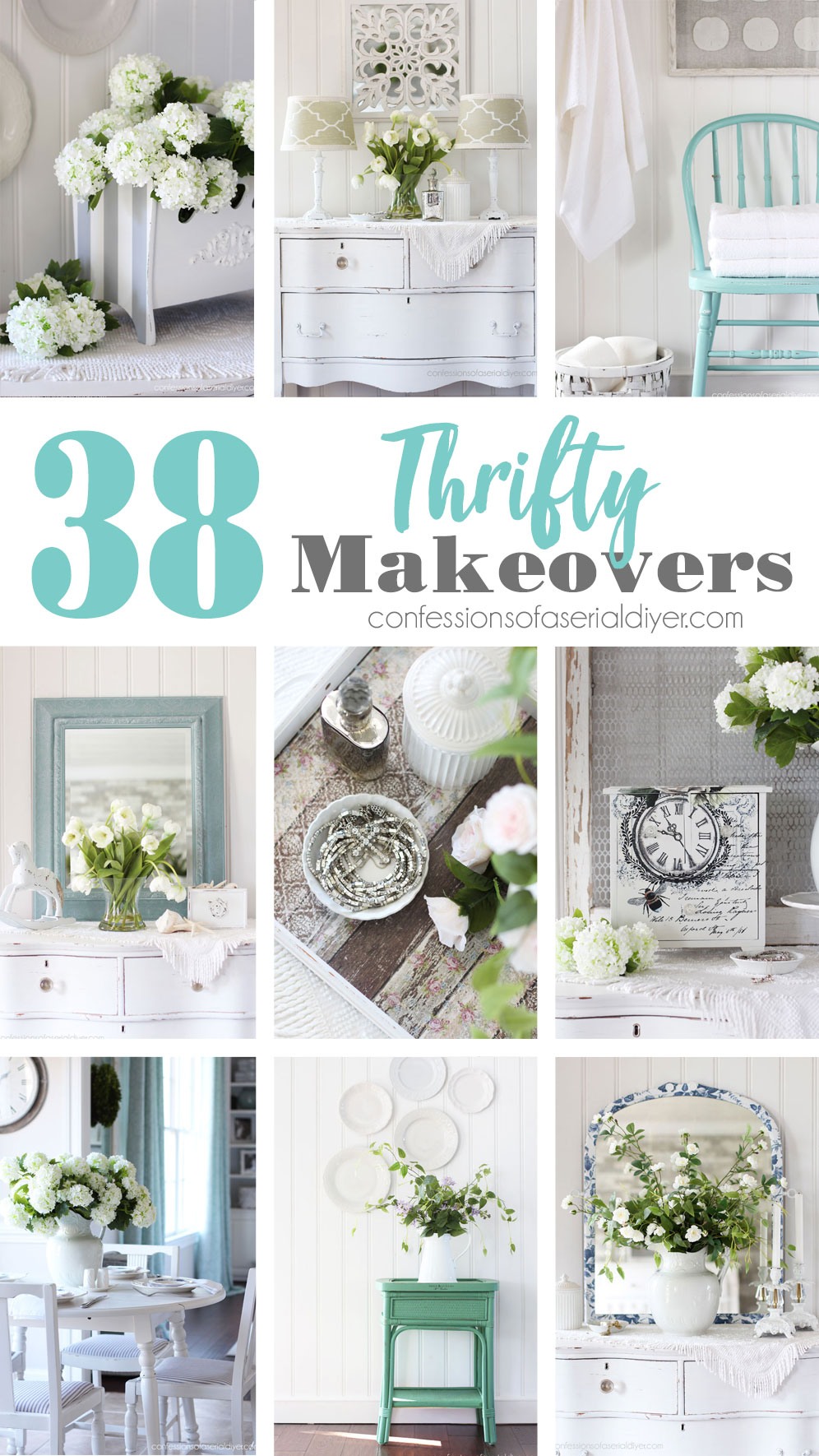 38 Thrifty Makeovers You can do!