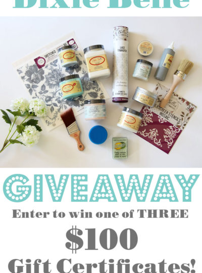 Dixie Belle Spring Giveaway!!