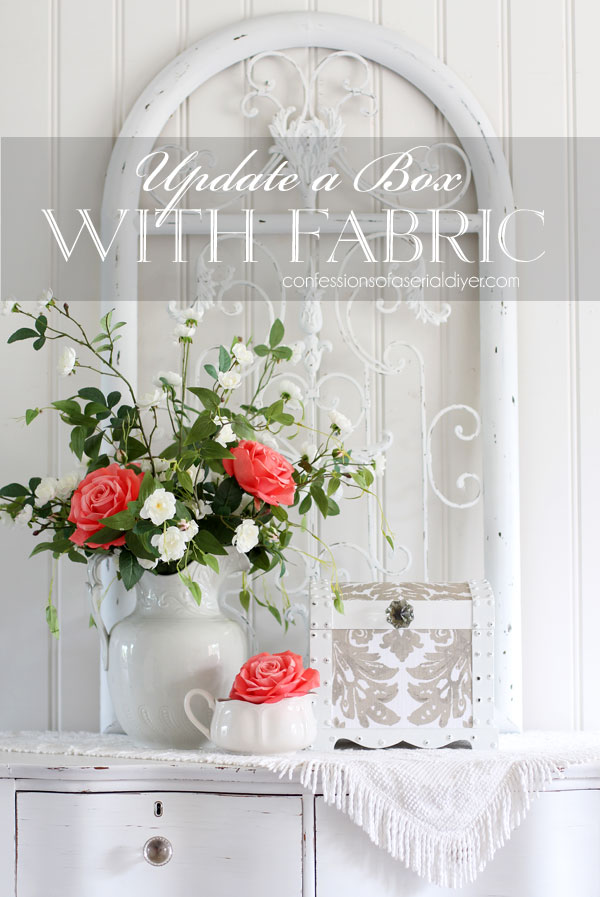 Update a box with fabric