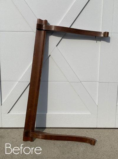 Repurposed Mirror Harp