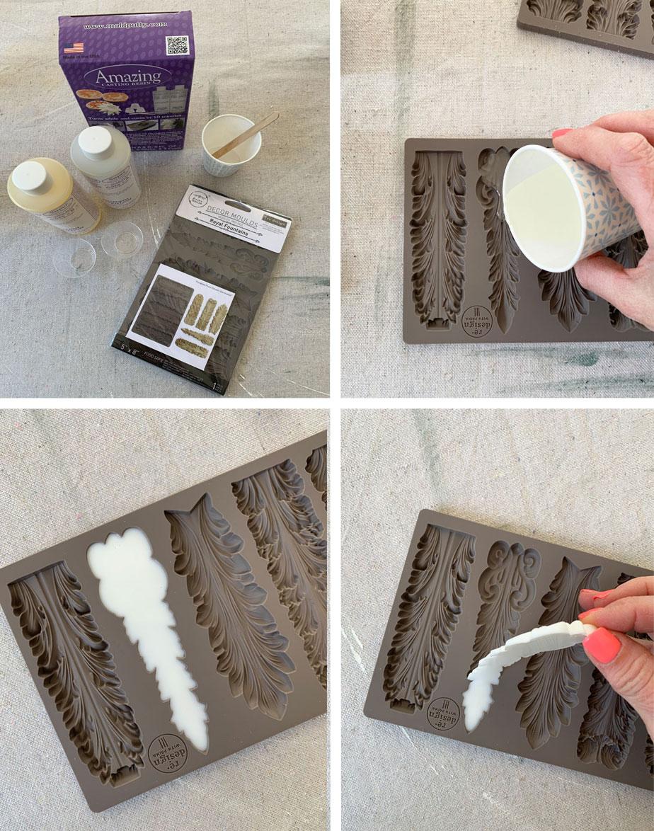 Using amazing casting resin