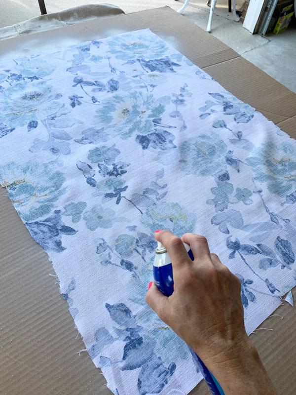 How to use spray adhesive