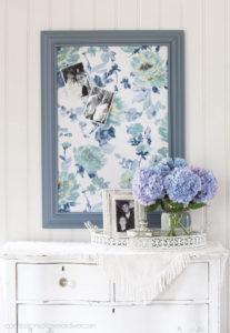 DIY Fabric-Covered Bulletin Board