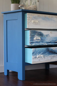 Drawers painted in Silk Harbor