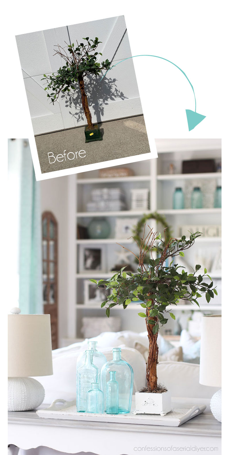 Small Faux Tree