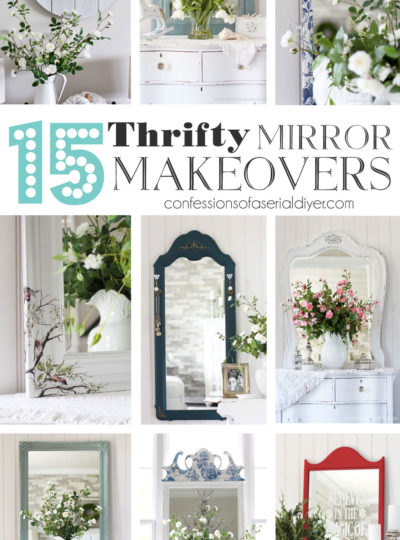 15 Thrifty Mirror Makeovers