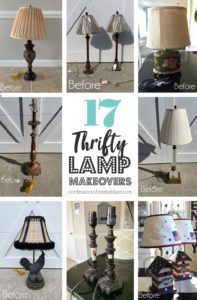 17 Thrifty Lamp Makeovers