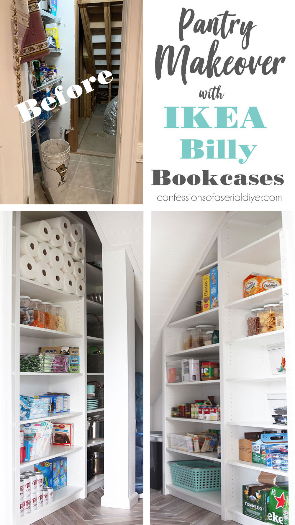 IKEA Billy Bookcase Pantry