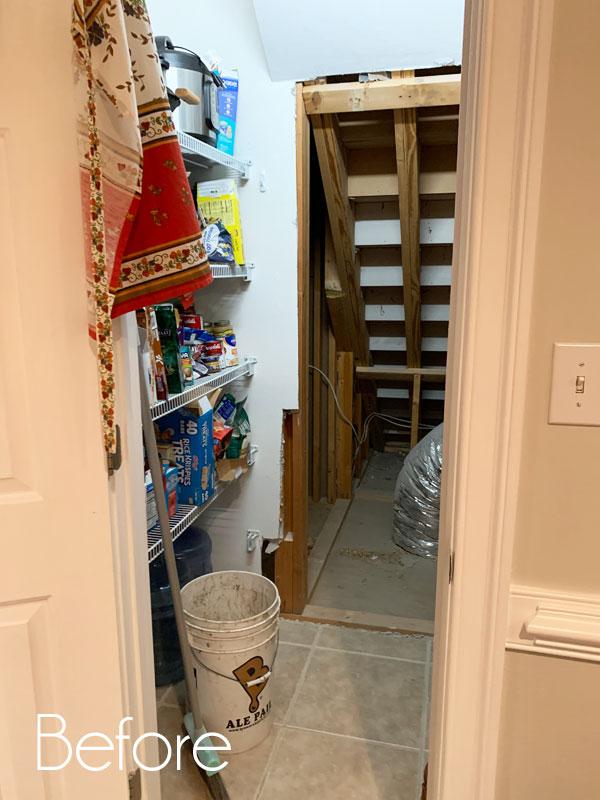 IKEA Pantry Before