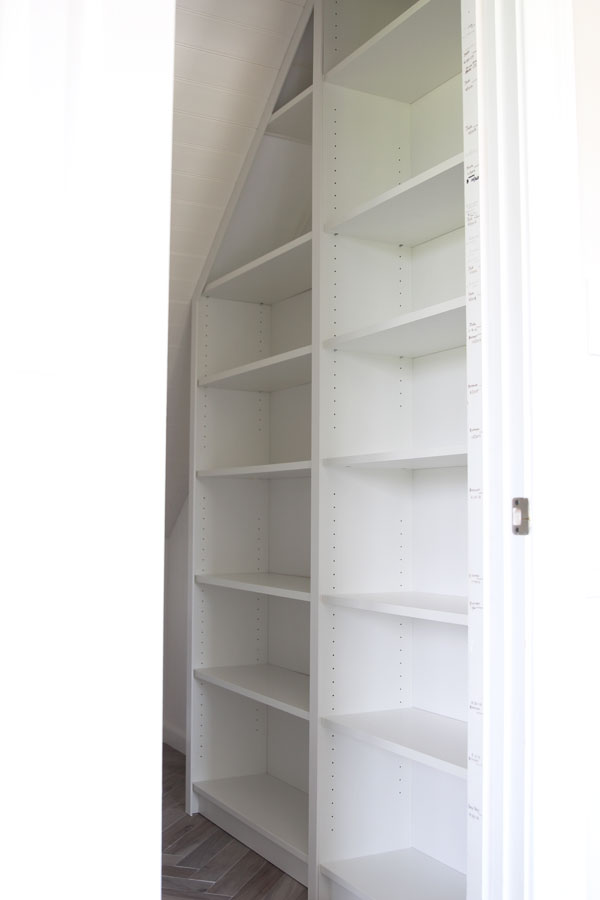 Shelving Under Stairs IKEA Billy Bookcases