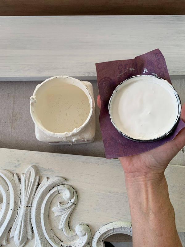 How to remove a jar lid