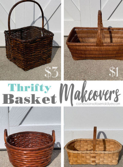 Four Thrifty Basket Makeovers