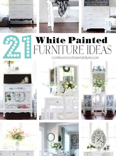 21 White Painted Furniture Ideas