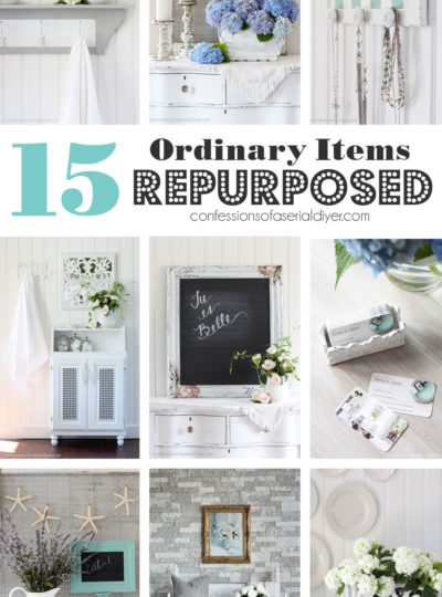 Another 15 Ordinary Items Repurposed
