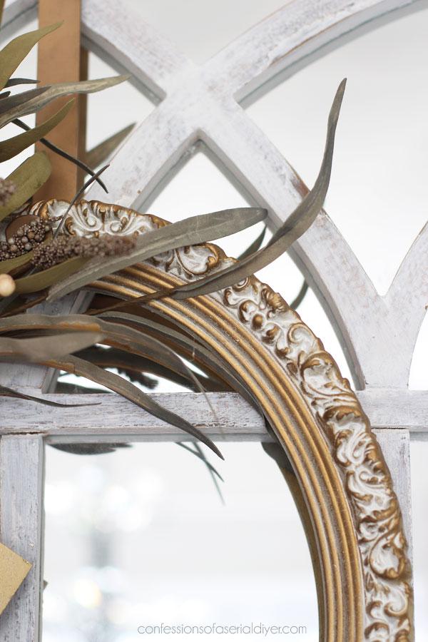 DIY Fall Frame WreathY Fall Frame Wreath