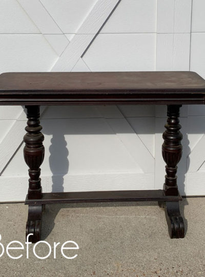 How to Paint Nicotine Stained Furniture