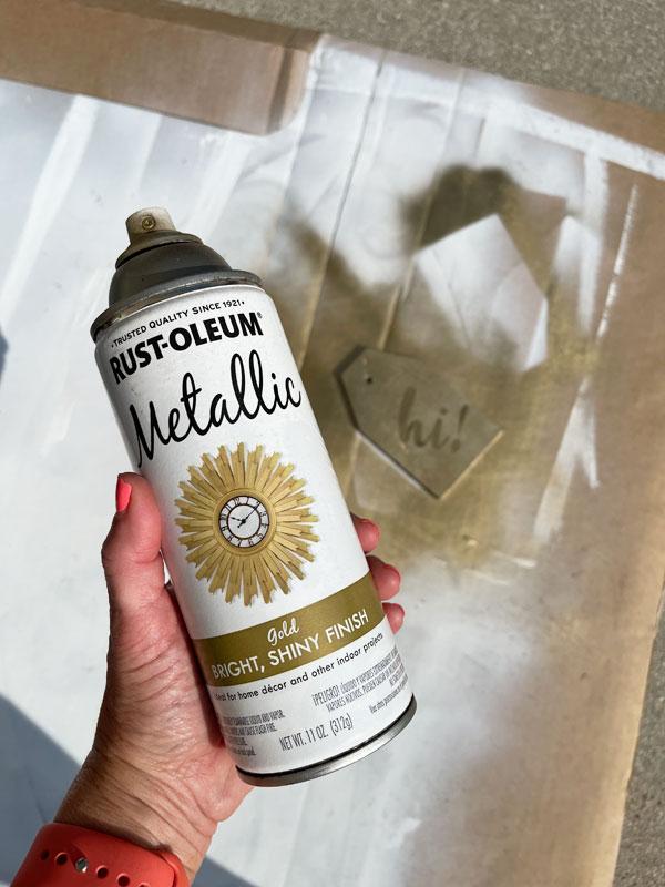 Rustoelum Metallic Gold