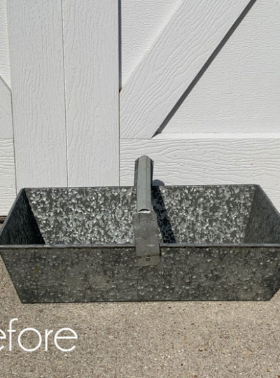 How to Paint Galvanized Metal