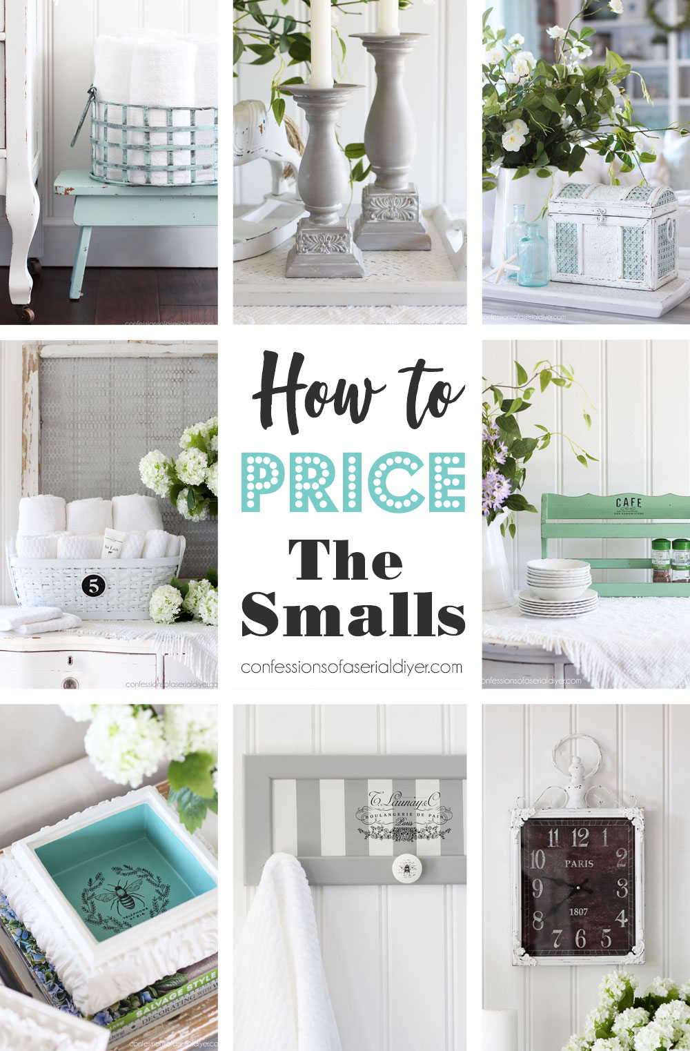 How to Price the Smalls in your Booth
