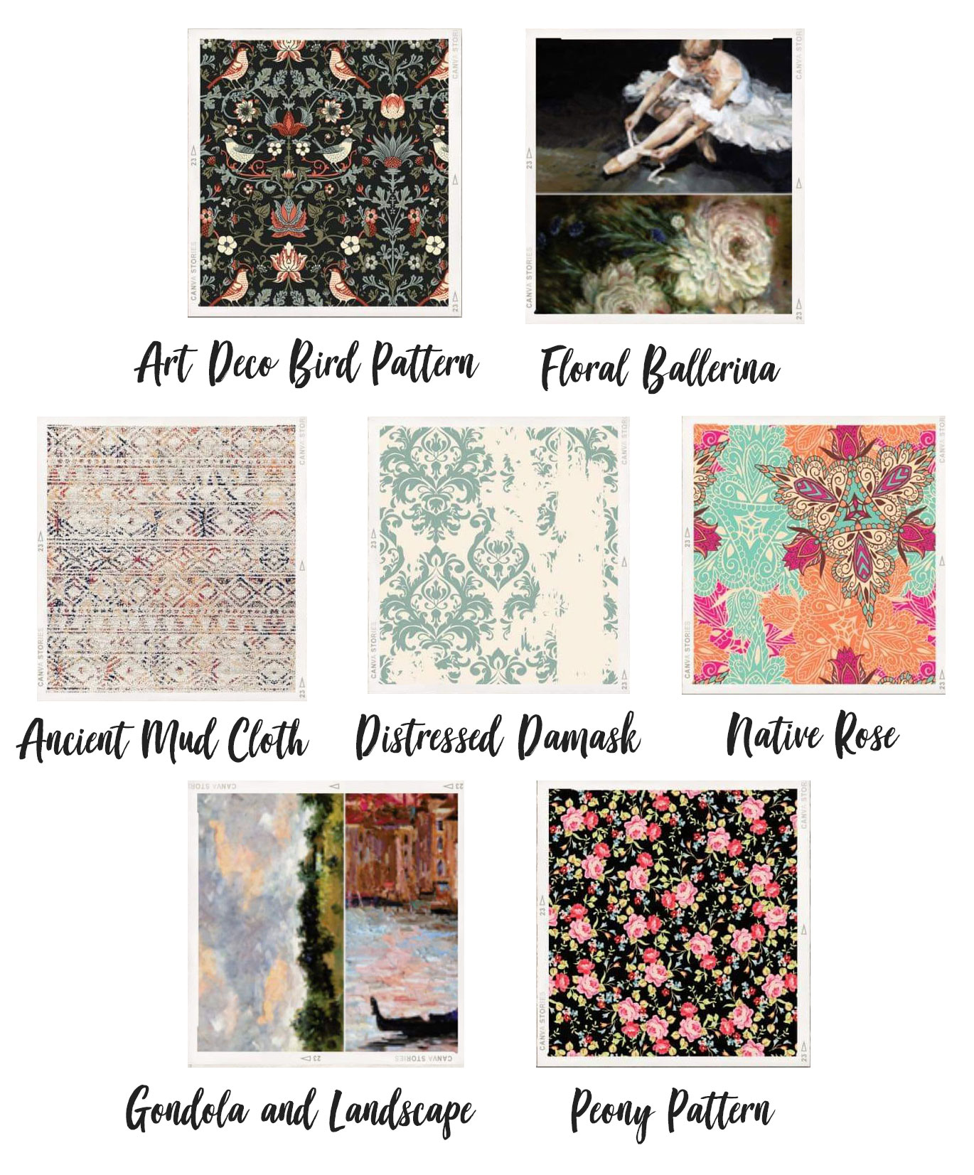 New decoupage papers