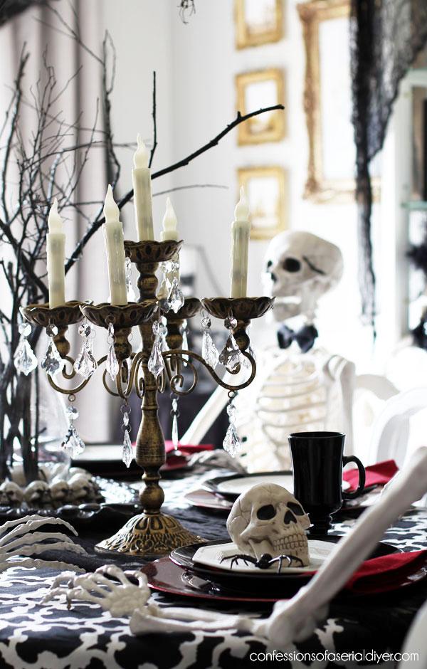 Halloween Chandelier