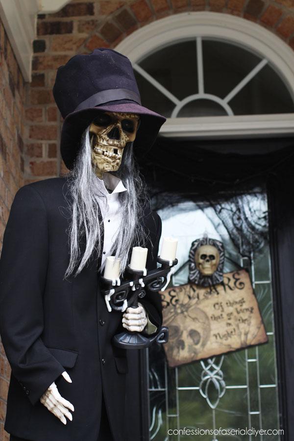 Halloween skeleton party
