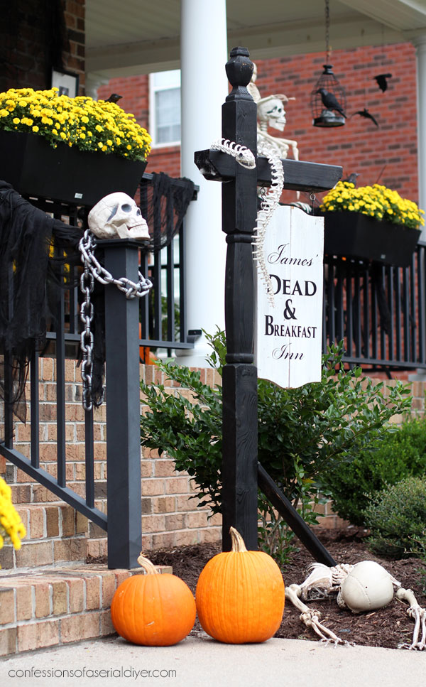 Halloween Sign DIY